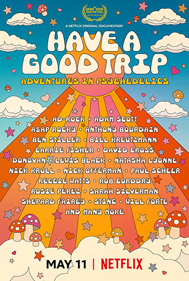 Movie poster - Have a Good Trip: Adventures in Psychedelics