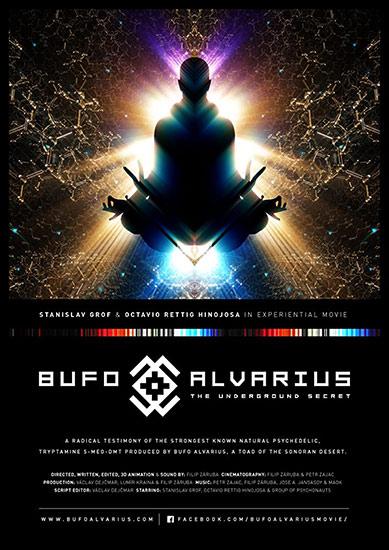 movie poster Bufo Alvarius - The Underground Secret